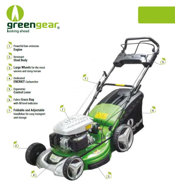 pro lpg gas lawnmower