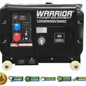 diesel-generator-6000-3-phase--remote-LDG6500SV3WRC wireless remote